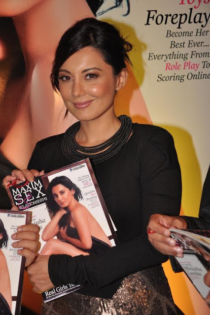 Minissha Lamba unveils a special Sex issue of Maxim Magazine