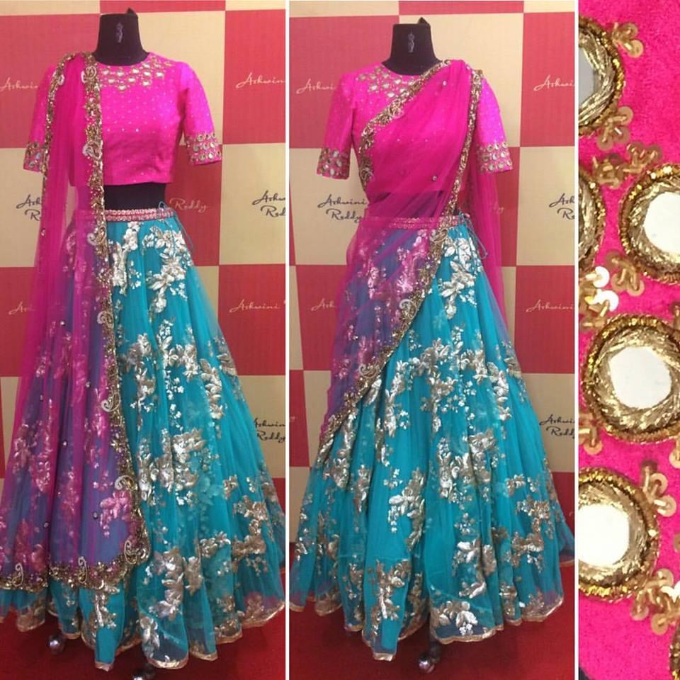 b18c942e7c Designer Long Skirts And Crop Tops By Ashwini Reddy – DACC