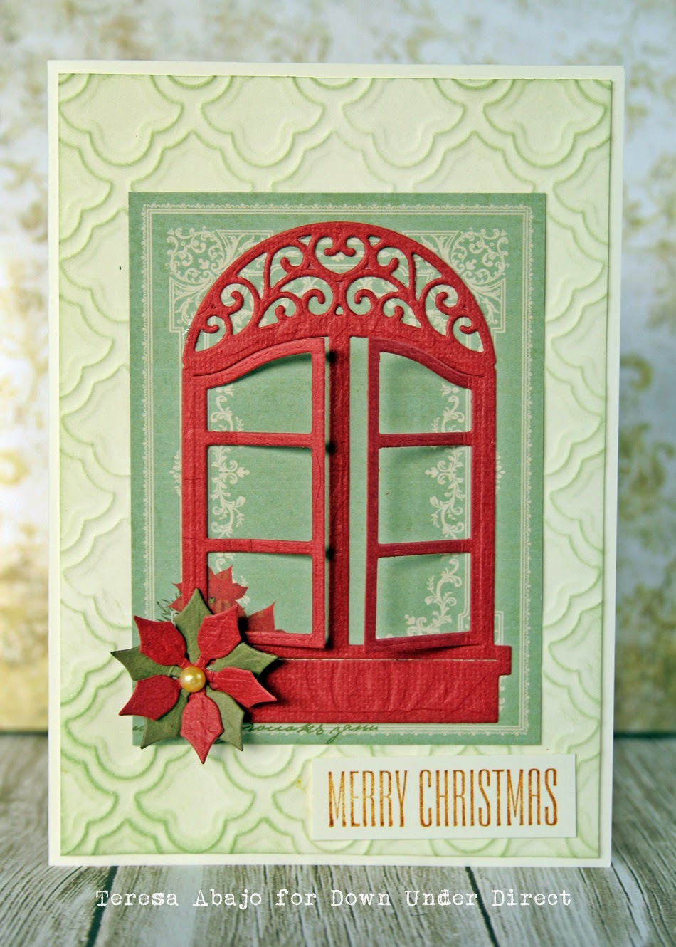 The Tamarisk: Christmas Window Card