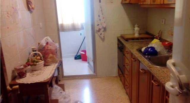 piso en venta calle union castellon cocina