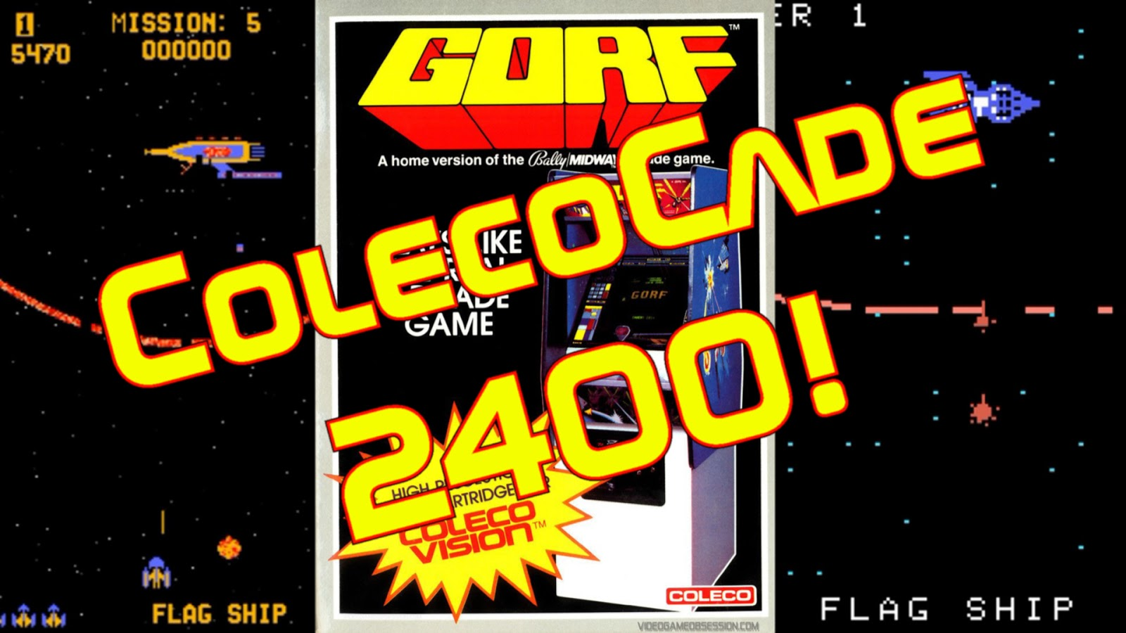 The Colecovisions Podcast: ColecoCade 2400! Gorf!