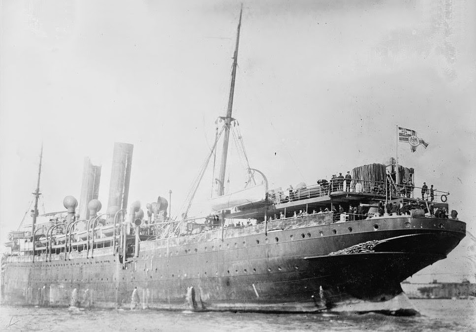 Ginger Historian: The Prinz Eitel Friedrich and SS William P Frye