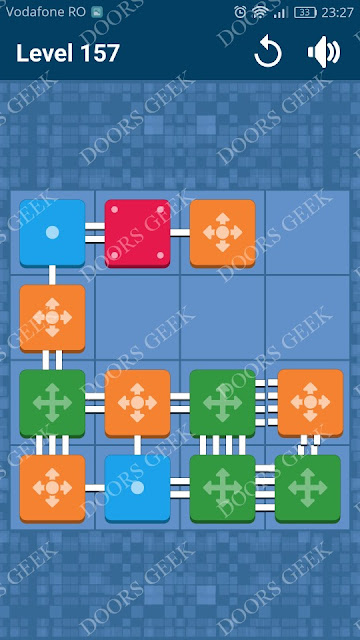 Connect Me - Logic Puzzle Level 157 Solution, Cheats, Walkthrough for android, iphone, ipad and ipod