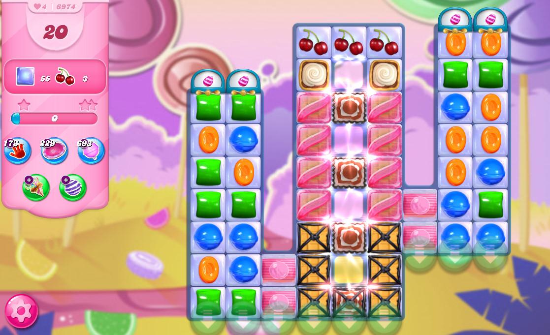 Candy Crush Saga level 6974
