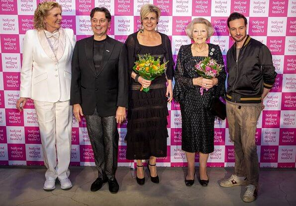 Princess Beatrix and Princess Laurentien attended the opening of the 17th edition of Holland Dance Festival at the Zuiderstrandtheater