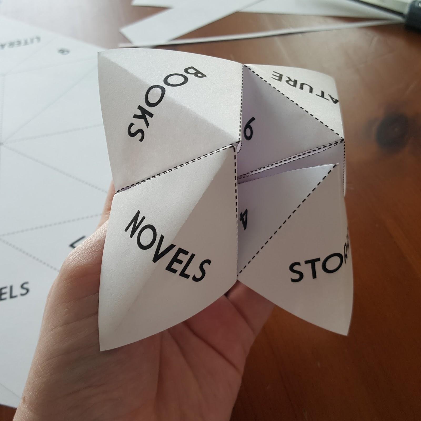 Literary hoots fortune teller library display ta da jeuxipadfo Gallery