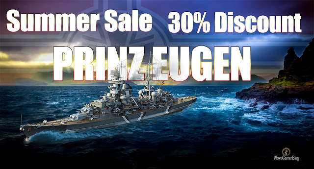 WORLD OF WARSHIPS EUGEN DISCOUNT