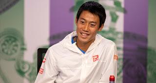 Kei Nishikori Wimbledon Pre-Championships press conference