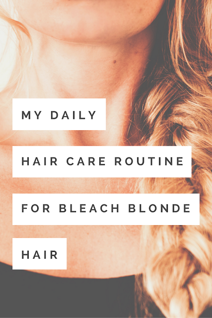 The Shapeshifting Cat Blog - Daily Routine for Bleach Blonde Hair