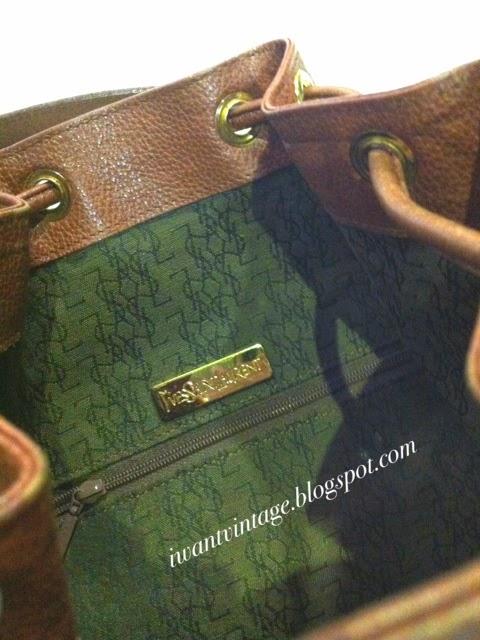 Yves Saint Laurent Bucket Shoulder Bag (Vintage) 21c0cd42c681a