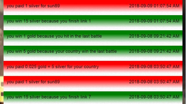 لعبة متصفح  مصرية حربية ربحية Modern World Battles