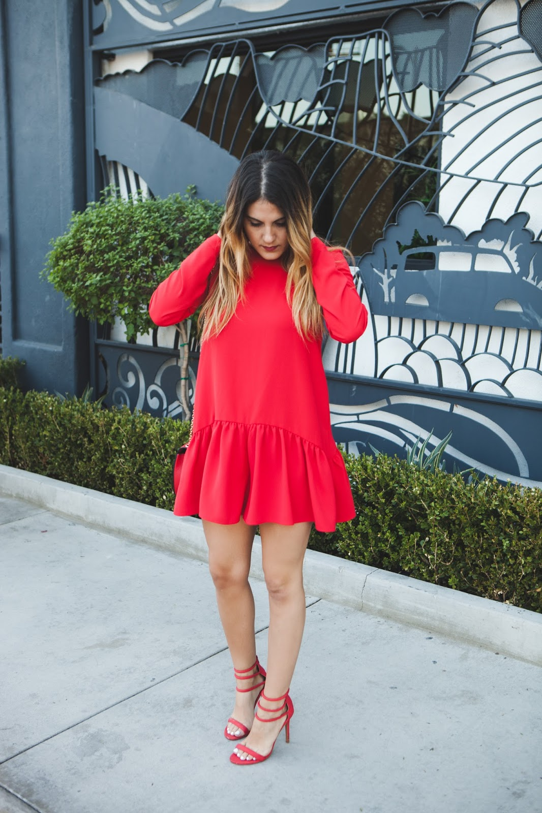 All Red Holiday Look -- @taylorwinkelmeyer