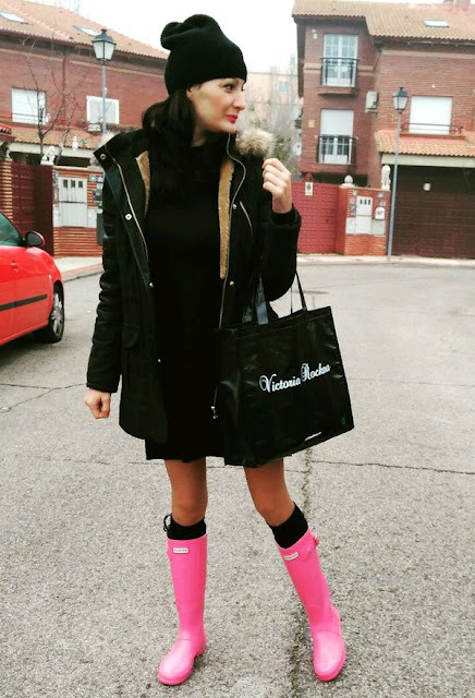 botas para lluvia y nieve
