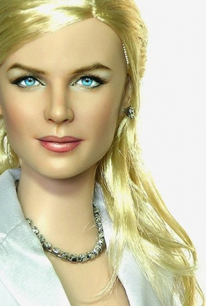 Muñeca o figura de acción con increíble parecido Nicole Kidman
