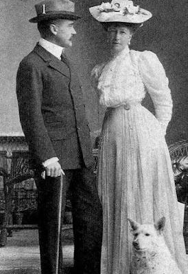 Comte et comtesse Elemér Lónyay von Nagy-Lónya und Vásáros-Namény en 1906