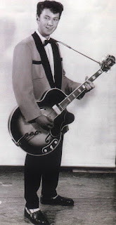 Doug Jerebine the Dargaville teenage guitar prodigy in the 1950s