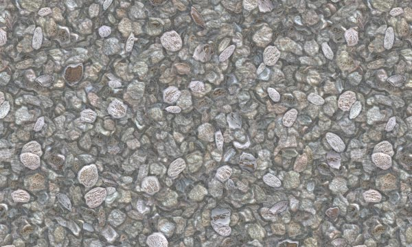 Free Realistic Gravel Patterns for Photoshop and Elements