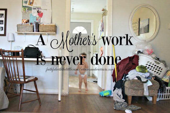 The Young Mothers: A Mothers Work Is Never Done