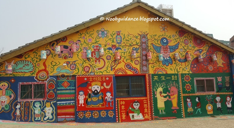 It Is One Of The Veteran Villages Which Government Deferred Demolition As Became Popular Attractions In Taichung