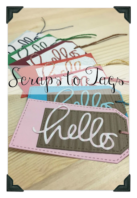Inked Inspirations: Scraps to Tags
