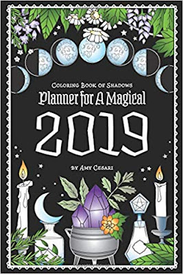 Coloring Book of Shadows 2019 by Amy Cesari