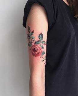 Flower tattoos on Wrist ideas