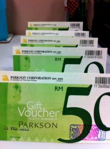 premium beautiful vouchers Parkson