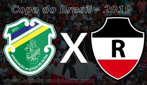 representantes piauienses da Copa do Brasil 2019