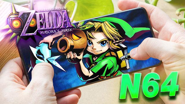 The Legend Of Zelda: Majora's Mask en Español Para Teléfonos Android (ROM N64)