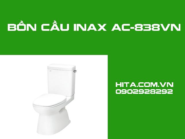 Giá, đặc điểm, kích thước bồn cầu Inax AC-838VN