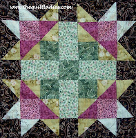 free quilt pattern in pink and green