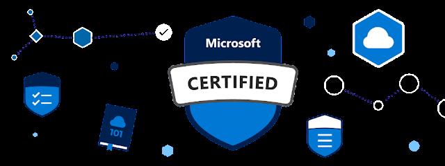 Lista com todas as certificações Microsoft
