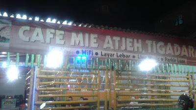 Cafe Tiga Dara Mie Aceh, Icon Kuliner Kota Sungai Penuh