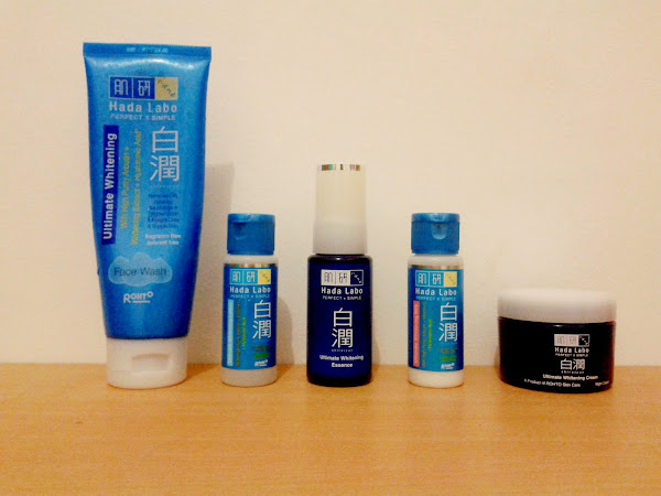 REVIEW: The Complete Series of Hada Labo Shirojyun Ultimate Whitening