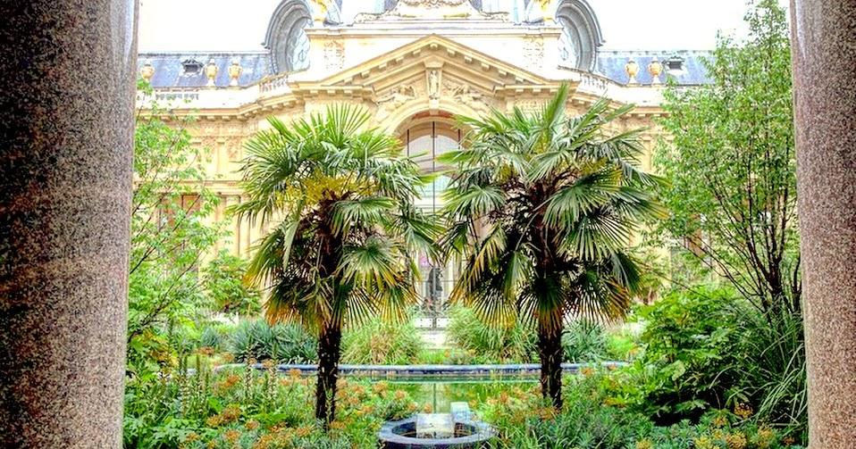 Paris le jardin du petit palais les charmes exotiques d for Les jardins de la ville paris