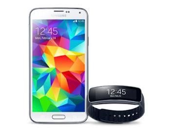 Cubierta tipo piel Samsung Galaxy S5