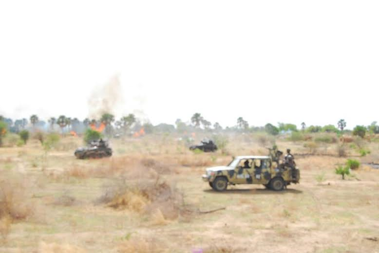 11 Photos: Troops clear Boko Haram camp in Sambisa Forest, rescue 41 hostages
