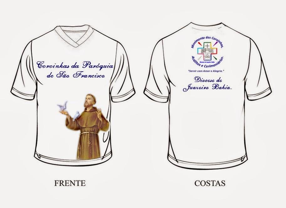 Nossa Senhora Aparecida Para Camisa: Modelos De Camisas Para Os Grupos De Coroinhas