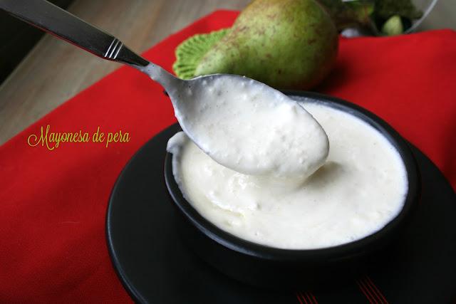 Mayonesa de pera