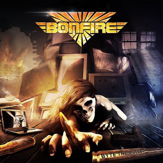 "Videos και audios από το album των Bonfire ""Byte the Bullet"""