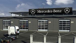 Mercedes Big Garage mod