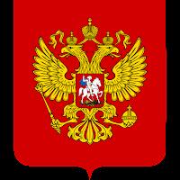 Logo Gambar Lambang Simbol Negara Rusia PNG JPG ukuran 200 px