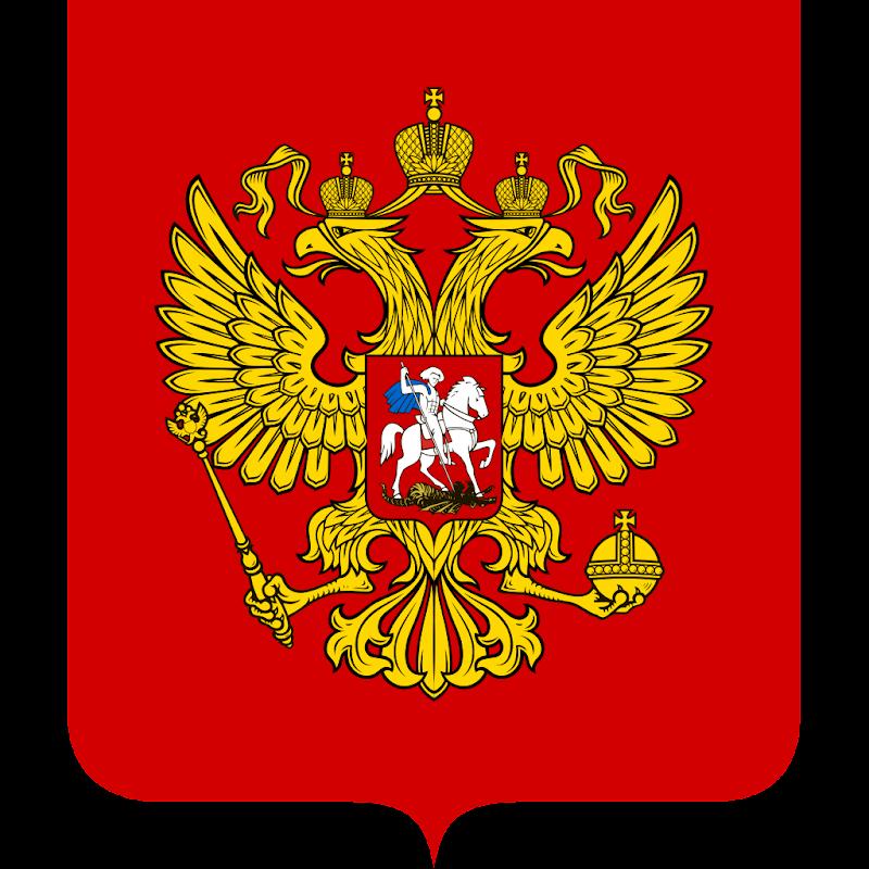 Logo Gambar Lambang Simbol Negara Rusia PNG JPG ukuran 800 px