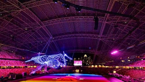 Số máy chiếu cho lễ khai mạc SEA Games 28