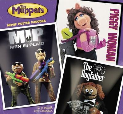 The Muppets Movie Parody Calendar 2012