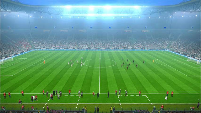 PES 2017 FIX Frost Pitch V1 dari Abid Nabawi