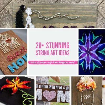 20 Stunning String Art Ideas