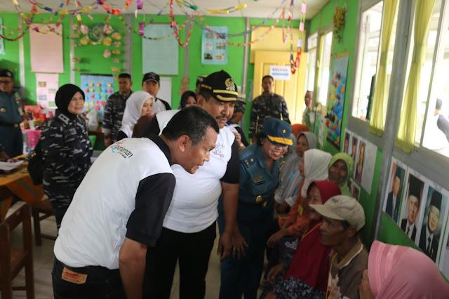 Gelar Bakhti Sosial, TNI AL Layani Kesehatan Ribuan Warga Pariaman