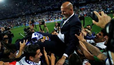 Real Madrid Juara La Liga 2017 ke 33