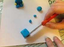Make a Fondant Lego Man Part 3